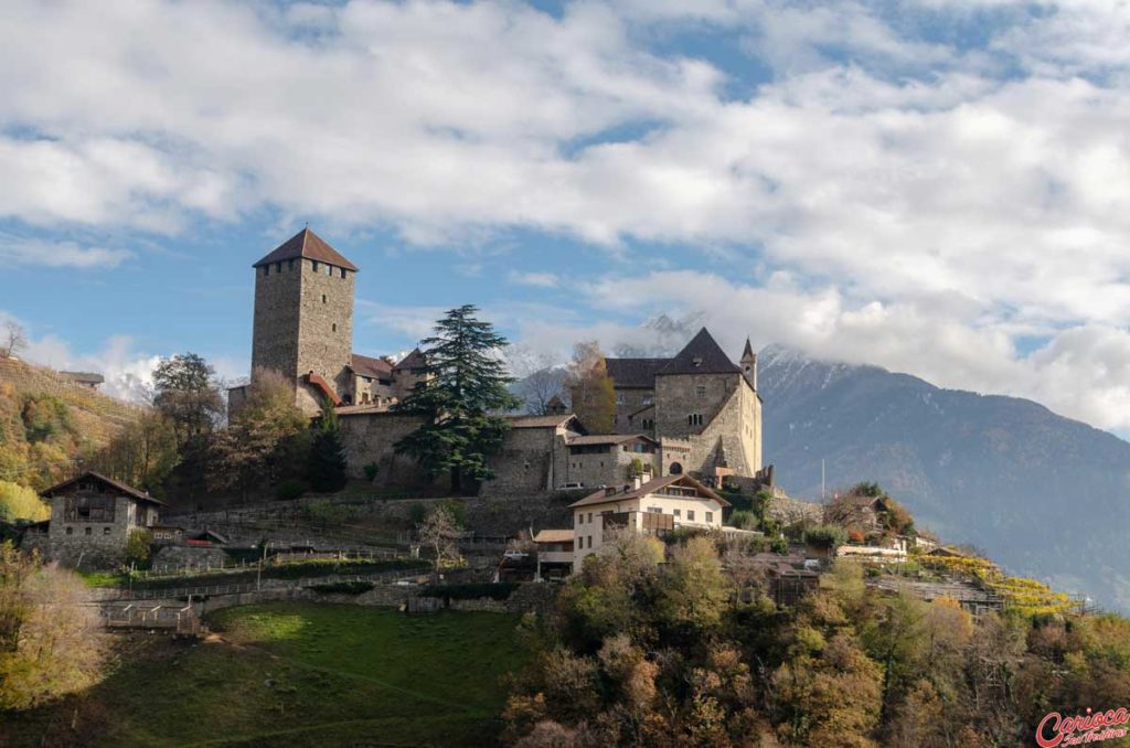Castelo do Tirol Alpes Italianos